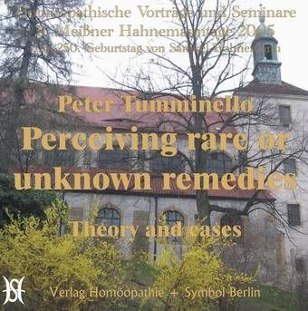 Perceiving rare or unknown remedies (englisch)