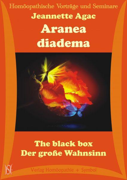 Aranea diadema. The black box. Der große Wahnsinn