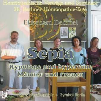Sepia - Hypotone und hypertone Männer und Frauen