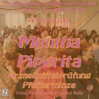 Mentha Piperita. AMP Pfefferminze