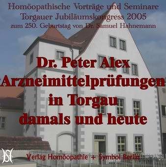 Arzneimittelprüfungen in Torgau damals und heute.